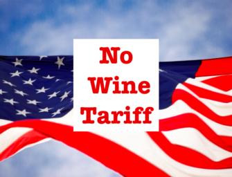 Niente dazi USA per i vini italiani, per ora.
